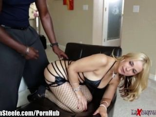 Lexington Steele gibt anal Orgasmus zu sarah