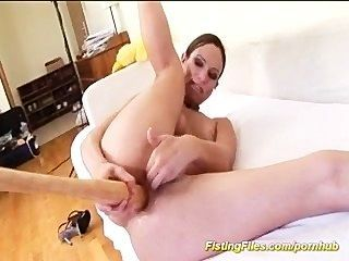 anal Selbst Fisting
