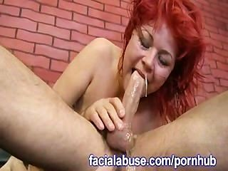grobe Blowjob vor Doggystyle Ficken
