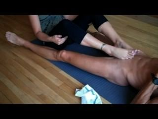 die Yoga foot