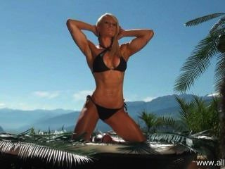 alle Sterne Sommer Fitness & sexy - Fotoshooting mit Bikini Athletin Marie -