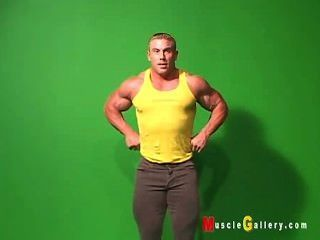 Aufstellung Bodybuilder greg Jones