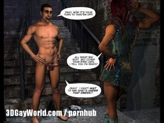 Drag Queens aus dem Weltraum Scifi 3d Homosexuell Toon anime Comics Cartoon