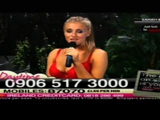 sarah Matty Dame im roten Babestation tags 2011