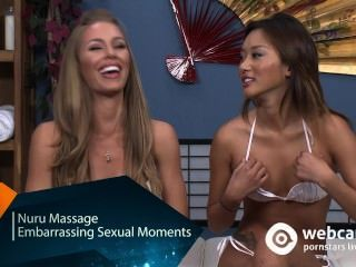 Live-Show Interview nuru Massage, nicole alina